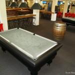 Sportsmens Bar Pool table